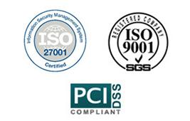iso27001 iso9001 pcs compliant