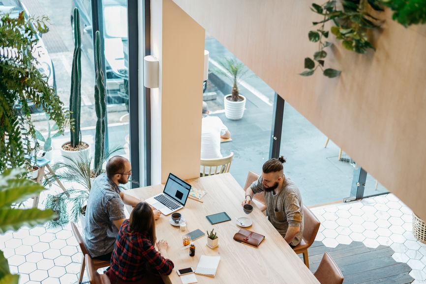 hosted desktop meeting
